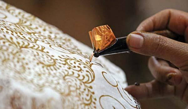 Batik Keris manual